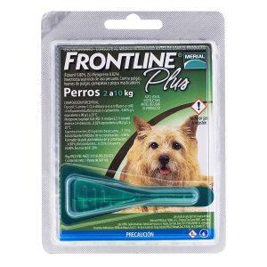 FrontLine Plus pipeta perros 2 a 10 kg de peso