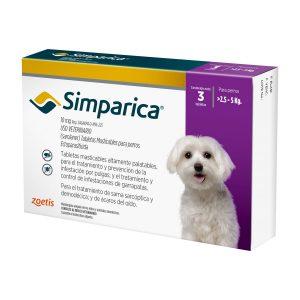 SIMPARICA ECTOPARASITICIDA PERROS