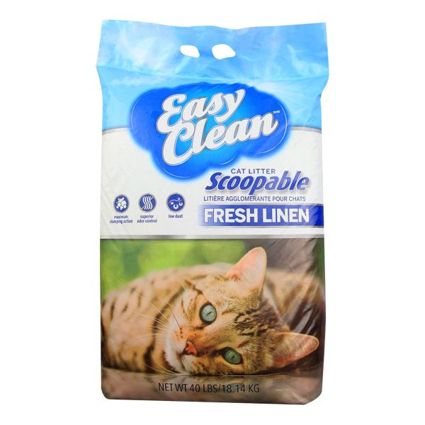Easy Clean cat litter 40lb lino