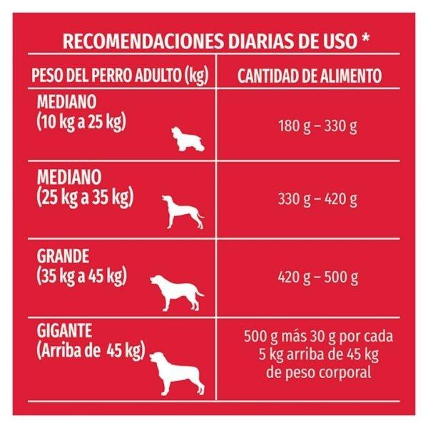 PURINA DOG CHOW PERRO ADULTO RAZA MEDIANA Y GRANDE RECOMENDACION