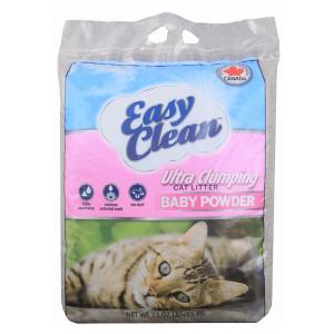 Easy Clean Arena olor Talco de bebe 33lb