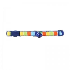 Collar Gato Stripe Blue