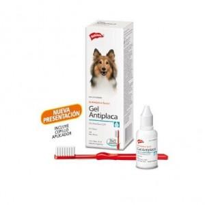 Gel antiplaca para perros