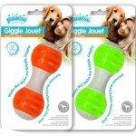 Juguete perro con sonido Giggle dumbell