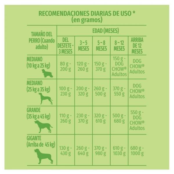 PURINA DOG CHOW PERRO CACHORRO recomendacion