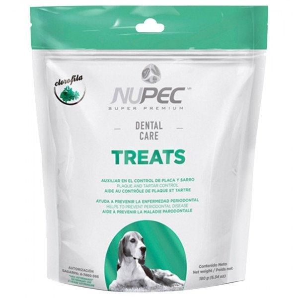nupec perro dental care treats empaque