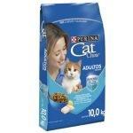 PURINA CAT CHOW ADULTO PESCADO 10KG LADO