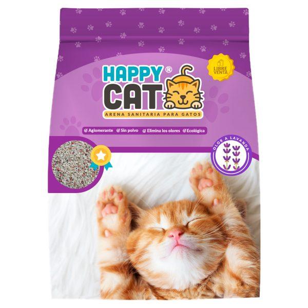 HAPPY CAT ARENA FRAGANCIA LAVANDA