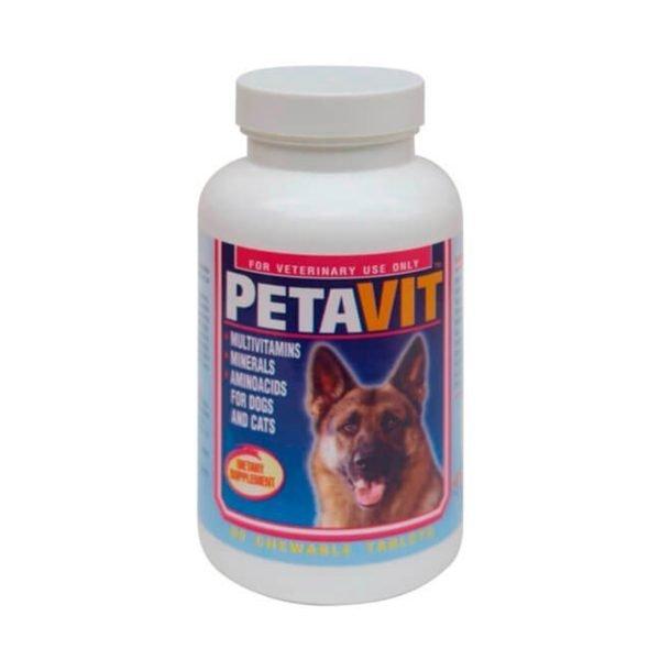 SUPLEMENTO VITAMINICO Y MINERALES PETAVIT 60TAB